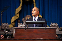 Governor Patrick delivers state of the state address (Photo: Eric Haynes, governor's office)