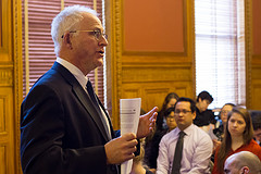 David Sciarra at State House event