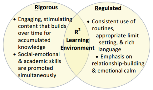 R2 Learning Environment diagram. Courtesy of The Language Diversity and Literacy Development Research Group, Harvard Graduate School of Education.