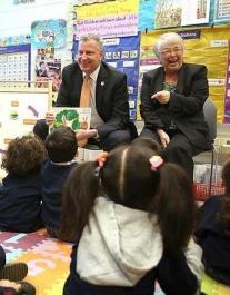 Photo: Courtesy of Mayor Bill de Blasio's Facebook page.