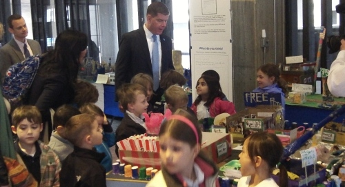 Mayor Marty Walsh at the