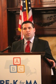 State Senator Sal DiDomenico. Photo: Alyssa Haywoode for Strategies for Children