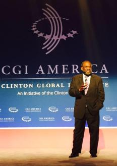 Ralph Smith at CGI America.  Photo Source: Campaign for Grade-Level Reading's Twitter page.
