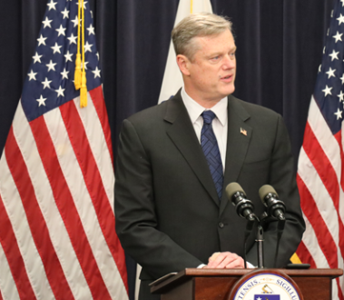 Governor Charlie Baker. Photo: State of Massachusetts website.