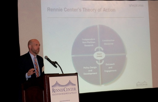 Chad d'Entremont, executive director of the Rennie Center. Photo: Rennie Center for Education Research & Policy