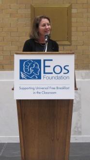 Eos Foundation President Andrea Silbert. Photo: Courtesy of the Eos Foundation