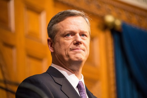 Photo: Alastair Pike, Office of Governor Charlie Baker. Source: Governor Baker's Flickr page.