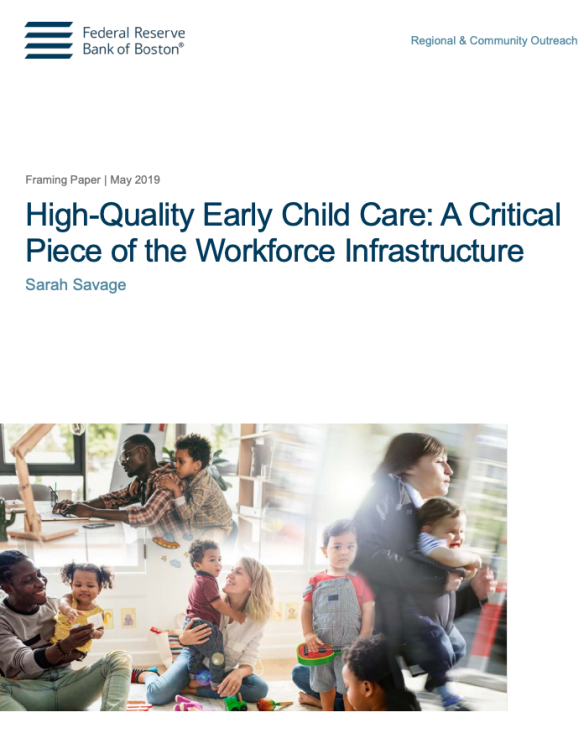 The economic power of child care – a Federal Reserve Bank of